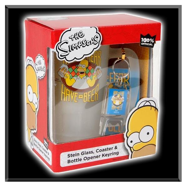 Verre à Biere  Bart Simpson  La Boutique de Séries Télé