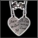 Pendentif Twilight Coeur brisé