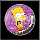 Badge Simpsons Bart  - 25mm