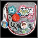 Porte Monnaie High School Musical