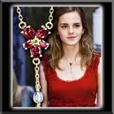 Collier Harry Potter - Collier Crystal Rouge d'Hermione