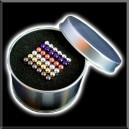 NeoBallsCube - 216 billes - 5mm - Arc en Ciel