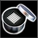 NeoBallsCube - 216 billes - 5mm - Argent