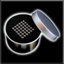 NeoBallsCube - 216 billes - 5mm - Noir