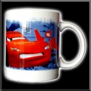 Mug - Tasse - Cars - Flash McQueen