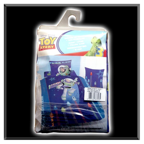 housse de couette toy story phosphorescente la boutique